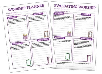Worship Planner - Imaginor