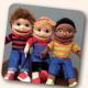 Barney, Bella & Bob puppets